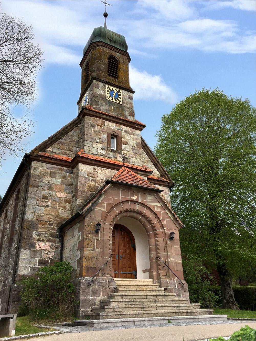 Die Kapelle in der Ortsmitte